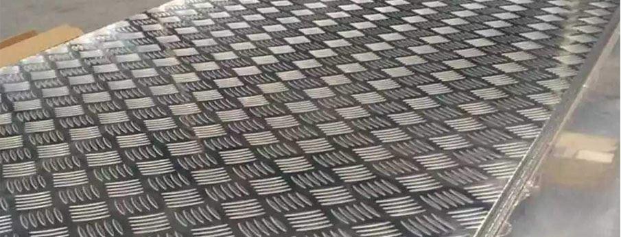 Chequered Aluminium Sheets manufacturer